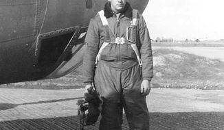 This image provided by the Department of Defense shows Army Air Forces 1st Lt. Eugene P. Ford an Air Force pilot from Pennsylvania whose plane crashed off the coast of Croatia during World War II. The Defense Department's POW/MIA Accounting Agency says the remains of Ford have been recovered and will be buried on Dec. 4, 2018, in Arlington National Cemetery. (Department of Defense via AP)