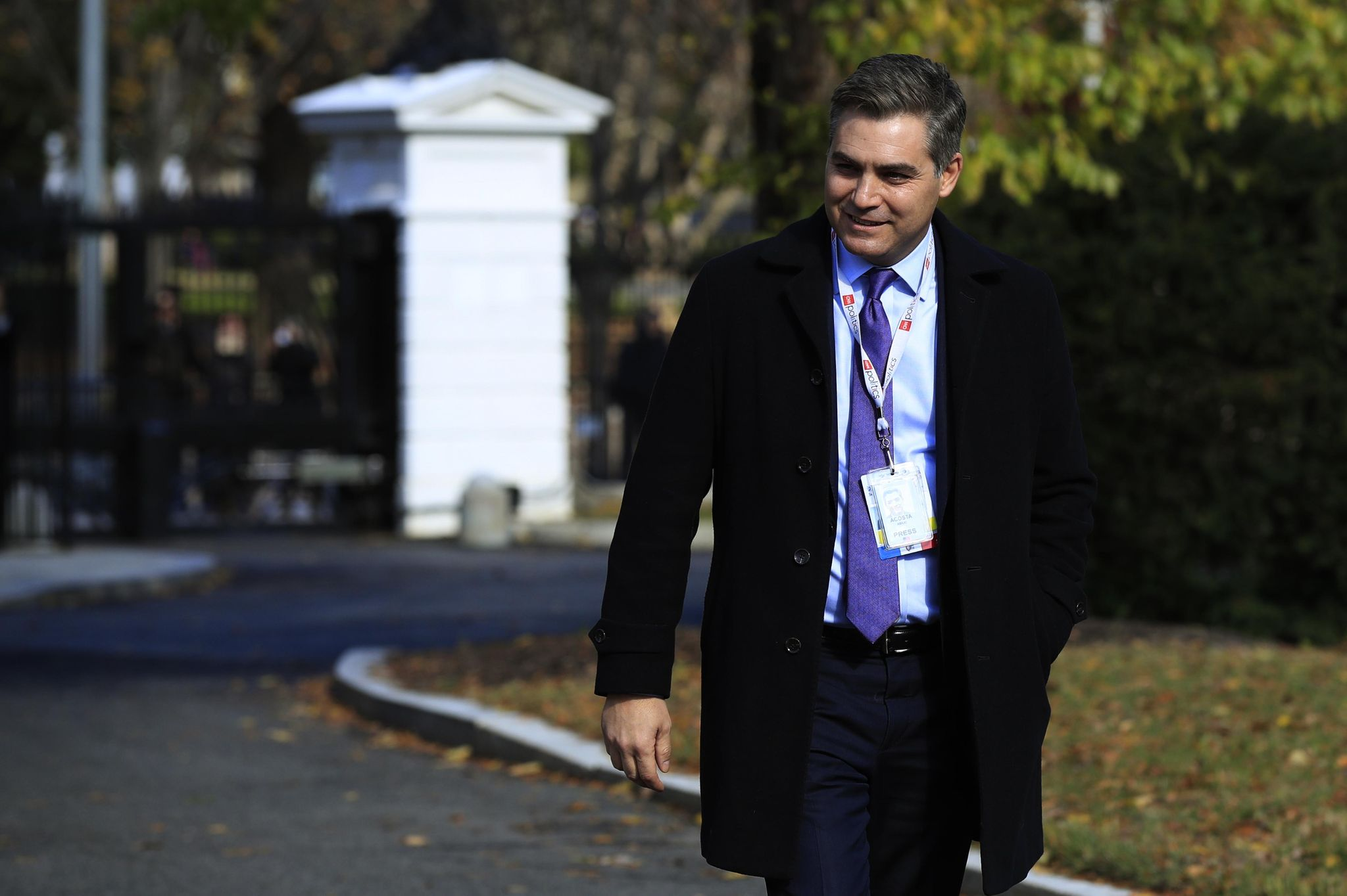Jim Acosta's smug, and no court ruling changes that
