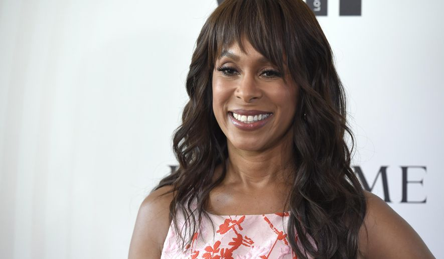 FILe - In this June 13, 2018 file photo, Channing Dungey arrives at the Women In Film Crystal and Lucy Awards in Beverly Hills, Calif. Disney-owned ABC said Friday that Dungey has decided to exit as ABC Entertainment president.She will be replaced by Karey Burke, a programming development executive at Freeform. (Photo by Chris Pizzello/Invision/AP, File)