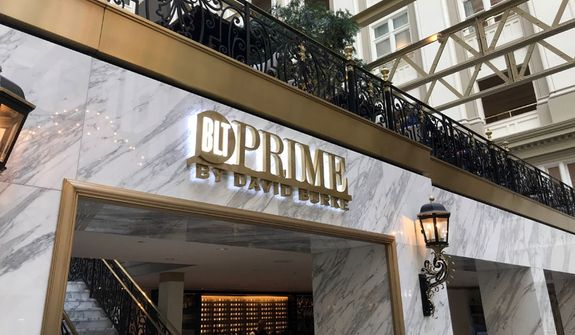 BLT Prime by David Burke at the Trump International Hotel  (Photograph by Jacquie Kubin / Special to The Washington Times)