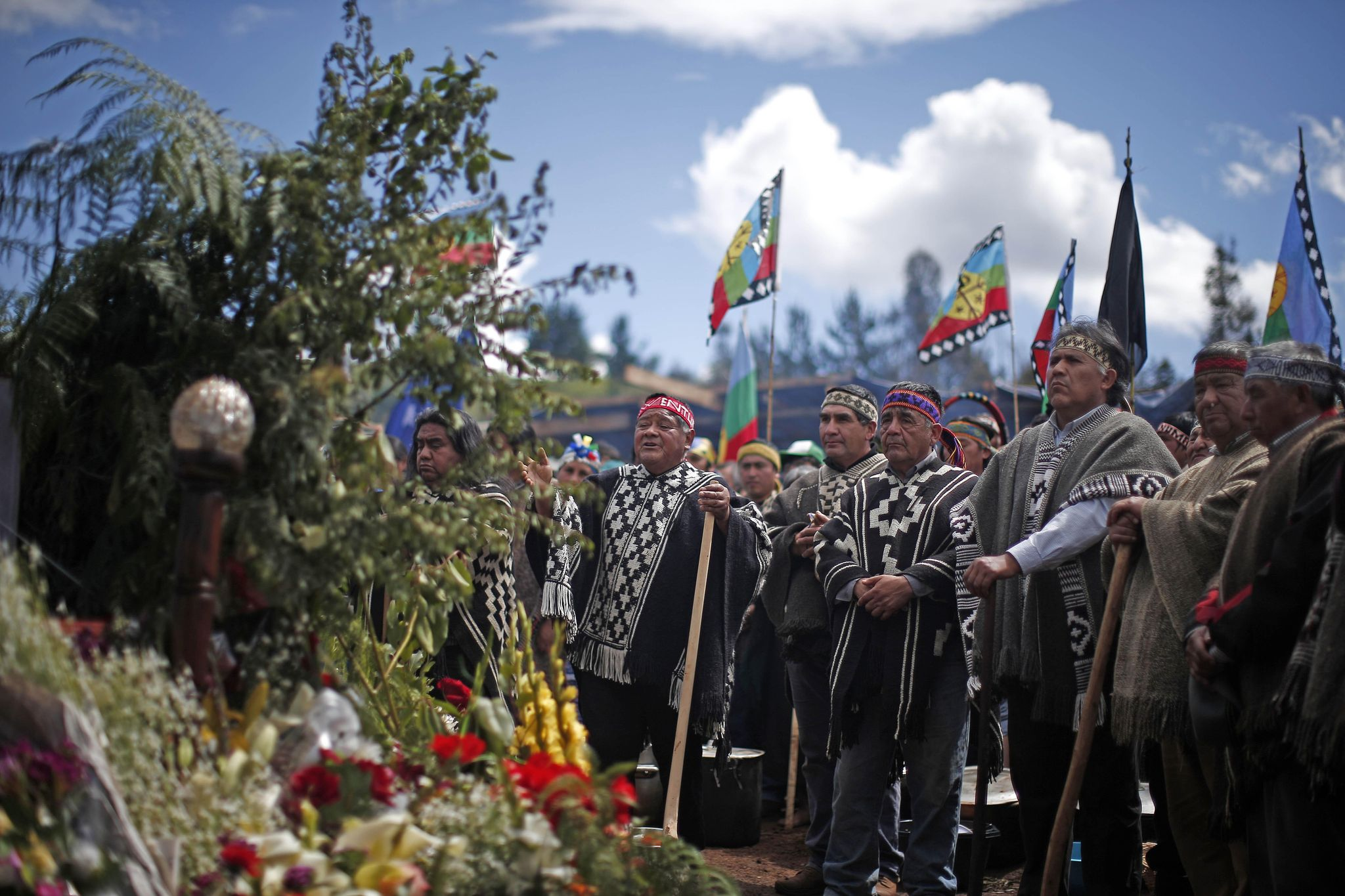 Chilean police resign over shooting of indigenous youth