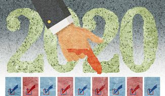 Recounting the Vote in Florida Illustration by Greg Groesch/The Washington Times