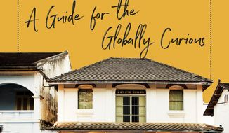 """This cover image released by Liveright shows """"Rediscovering Travel: A Guide for the Globally Curious,"""" by Seth Kugel. (Liveright via AP)"""