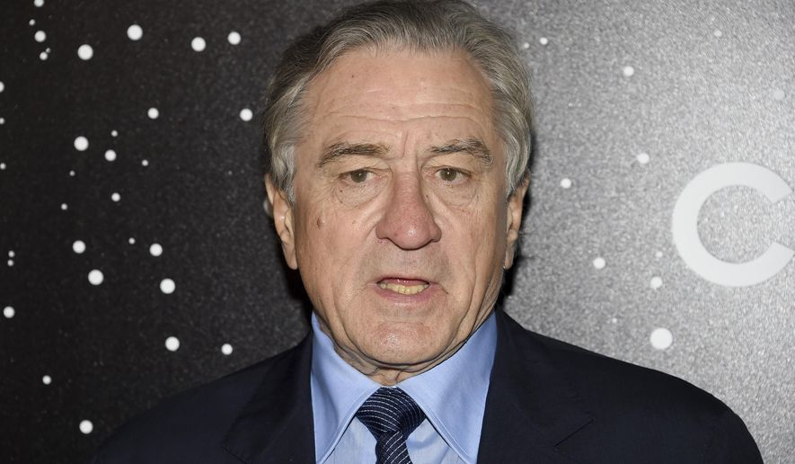 Actor Robert De Niro attends the Museum of Modern Art Film Benefit tribute to Martin Scorsese, presented by Chanel, on Monday, Nov. 19, 2018, in New York. (Photo by Evan Agostini/Invision/AP)