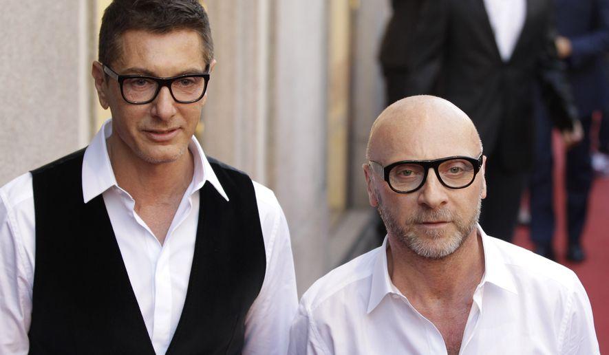 4f3bff531d4 Fashion designers Stefano Gabbana