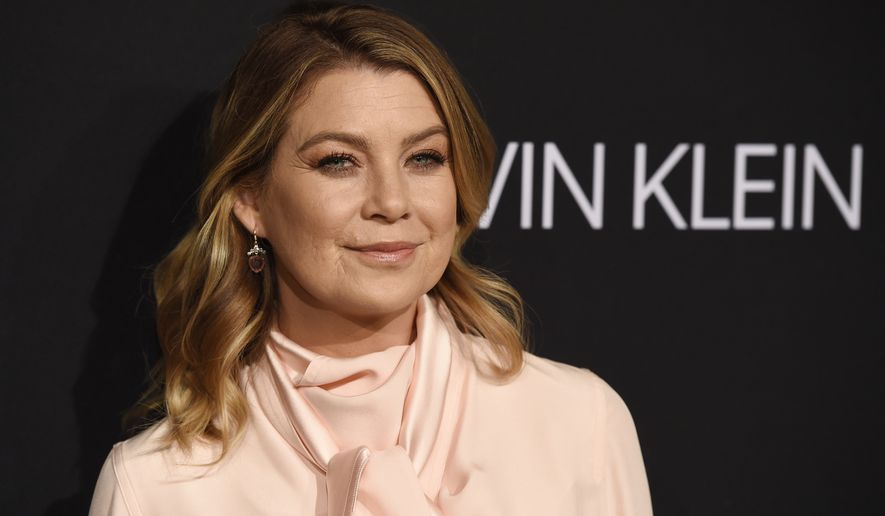 Actress Ellen Pompeo poses at the 25th Annual ELLE Women in Hollywood Celebration, Monday, Oct. 15, 2018, in Los Angeles. (Photo by Chris Pizzello/Invision/AP)