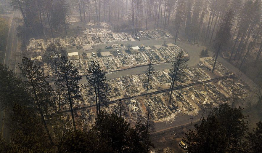 The Latest: Death toll from N  California wildfire now 84