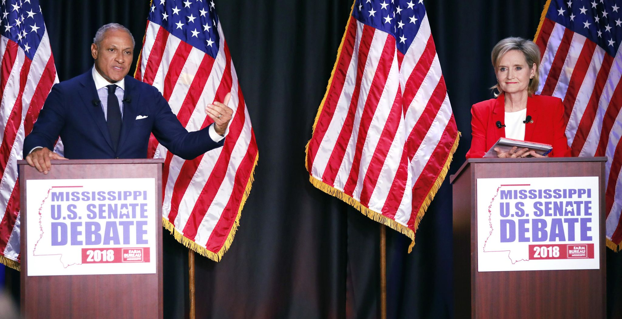 The Latest: Mississippi Senate candidates make final pitches