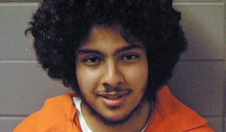 This undated file photo provided by the U.S. Marshals office shows Chicago terrorism suspect Adel Daoud. The six-year-old case of Daoud, accused of trying to detonate what he thought was a bomb in Chicago may be nearing a resolution. (U.S. Marshals office via AP, File)
