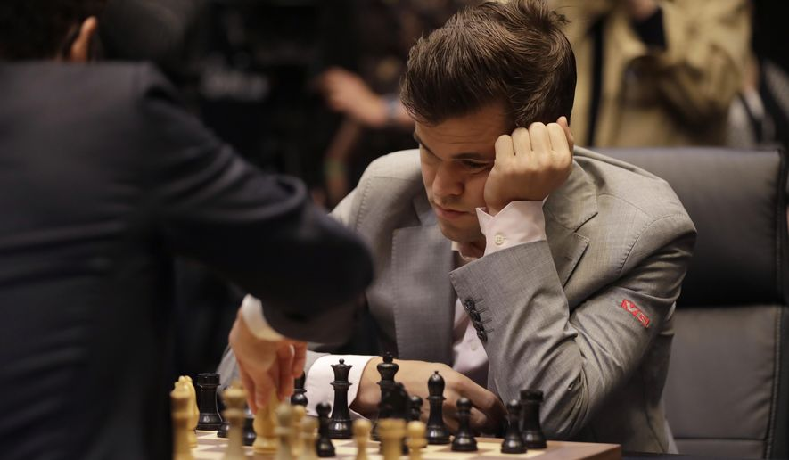 In anti-racist statement, chess champs let Black move first
