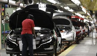 Thousands of factory and white-collar workers in North America could lose their jobs under a General Motors restructuring to cut costs and focus more on autonomous and electric vehicles. (Associated Press/File)