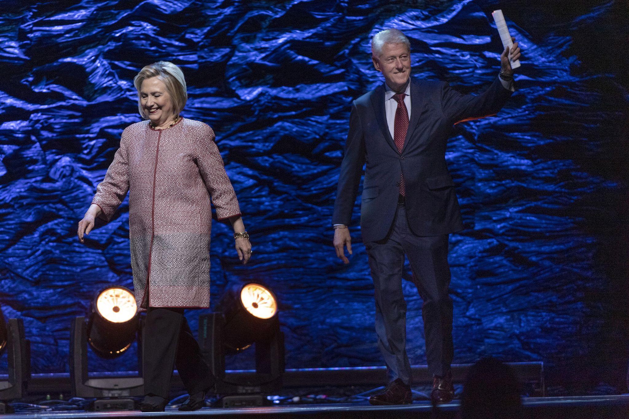 Hillary's vaudeville tour flops