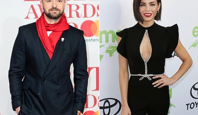Justin Timberlake and Jenna Dewan dated back when she was one of his back up dancers