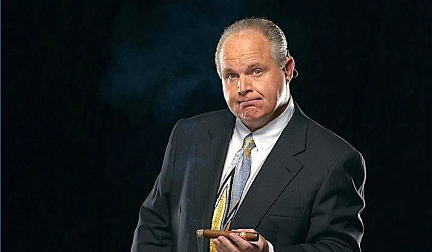 "Host Rush Limbaugh says the media has destroyed the conservative ""brand"" and offers a way to neutralize the negative effects. (Rush Limbaugh) ** FILE **"