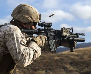 Ooh Rah! United States Marine Corps weapons