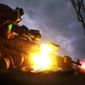 M240 machine gun - Pfc. Sebastian Rodriguez, machine gunner, Weapons Platoon, Lima Company, 3rd Battalion, 3rd Marine Regiment, Marine Rotational Force - Darwin, fires an M240 machine gun during a night squad-attack exercise, here, May 22. MRF-D Marines used machine gunners, snipers and rifleman to suppress a simulated squad-sized enemy attack.  (U.S. Marine Corps photo by Sgt. Sarah Fiocco/Released) ** FILE **
