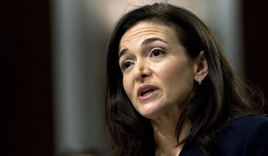 In this Sept. 5, 2018, file photo Facebook COO Sheryl Sandberg testifies before the Senate Intelligence Committee hearing on 'Foreign Influence Operations and Their Use of Social Media Platforms' on Capitol Hill in Washington. For the past decade, Sandberg has been the poised, reliable second-in-command to Facebook CEO Mark Zuckerberg, helping steer Facebooks rapid growth around the world, while also cultivating her brand in ways that hint at aspirations well beyond the social network. (AP Photo/Jose Luis Magana, File)