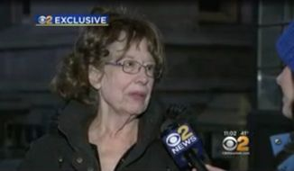 The New York Police Department is investigating a possible hate crime after Elizabeth Midlarsky, a Jewish professor who teaches the Holocaust at Columbia University's Teachers College, found swastikas and anti-Semitic slurs spray-painted on the walls of her office on Wednesday. (Image: CBS New York)