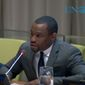 Marc Lamont Hill, a Temple University professor who appears regularly on CNN, speaks to a United Nations panel on Wednesday, Nov. 28, 2018. (Image: Screen grab of UNWatch's YouTube video at https://www.youtube.com/watch?v=BvzSv28z97o) ** FILE **