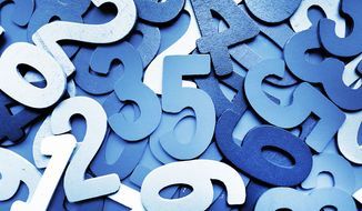 Play the numbers game (Shutterstock)