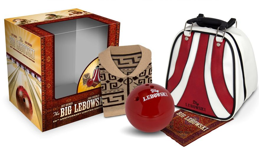 The Big Lebowski: 20th Anniversary Limited Edition (Courtesy Universal Pictures Home Entertainment)