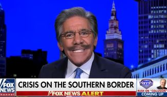 """Fox News contributor Geraldo Rivera says Spanish-speaking """"ambassadors"""" who relay """"the facts of life"""" will stop rock throwing migrants along the U.S. southern border with Mexico. (Image: YouTube, Fox News screenshot)"""