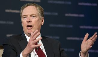 "U.S. Trade Representative Robert Lighthizer linked Zhang Shoucheng's Silicon Valley venture capital firm Danhua Capital to China's ""Made in China 2025"" technology dominance program days before Zhang's apparent suicide. (Associated Press/File)"