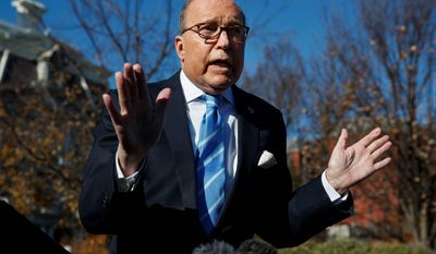 """White House chief economic adviser Larry Kudlow said China made new commitments and """"put stuff on the table that we have not seen before."""""""