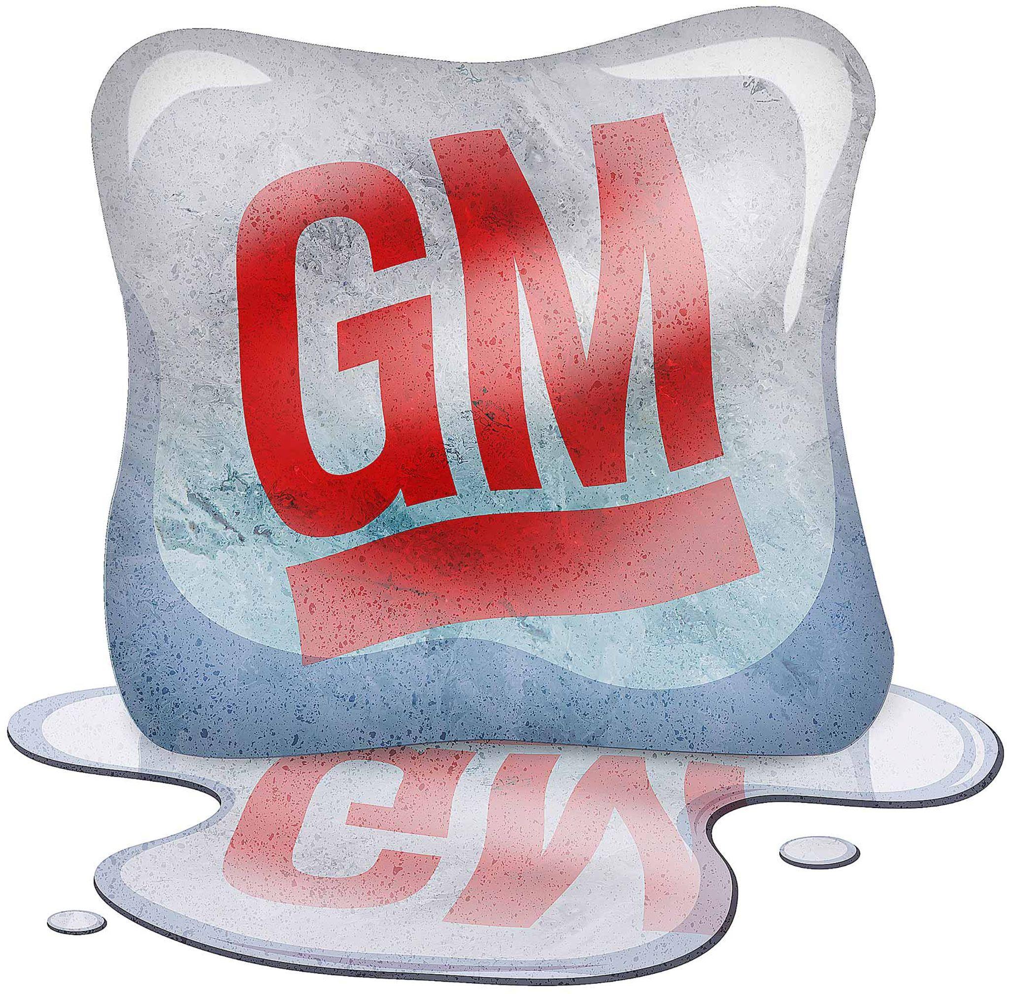 The melting away of General Motors
