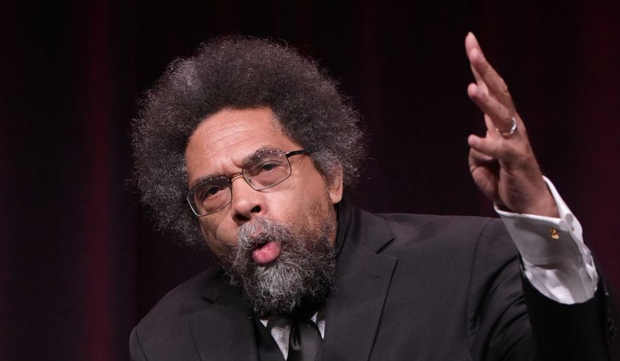 Harvard professor Cornel West is shown here in this July 2016 file photo. (Associated Press) **FILE**