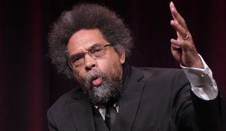 "Harvard professor Cornel West said he was in ""deep solidarity"" with Marc Lamont Hill. (Associated Press)"