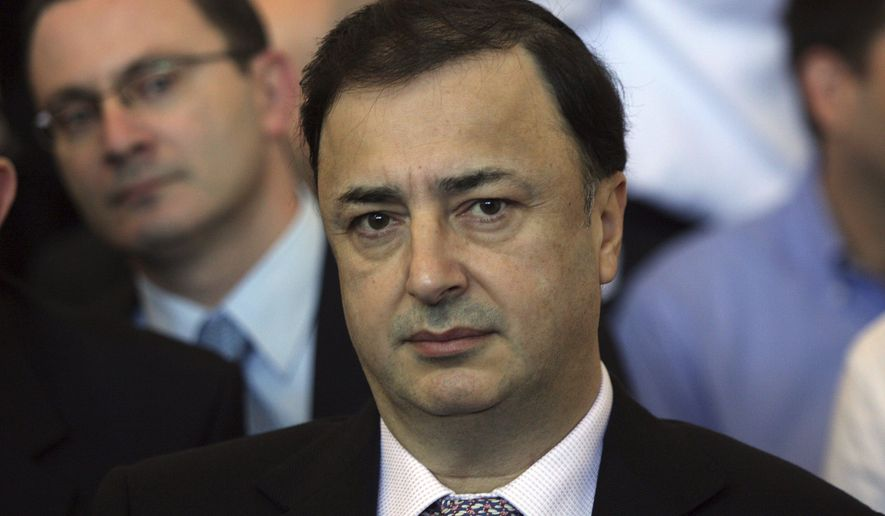 This Dec. 2, 2009 photo showsLev Leviev at a district court in Tel Aviv, Israel. Israeli police are demanding his return from Russia to be questioned of charges including smuggling, money laundering and tax offenses. (AP Photo/Ofer Vaknin)