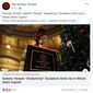 "A ""Snaketivity"" display has been installed in the Illinois State Capitol for the 2018 holiday season. (Image: Facebook, The Satanic Temple)"