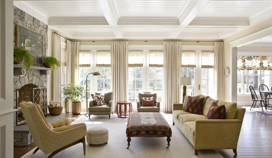This Photo Provided By Marika Meyer Interiors Shows A Living Room In Mclean Va