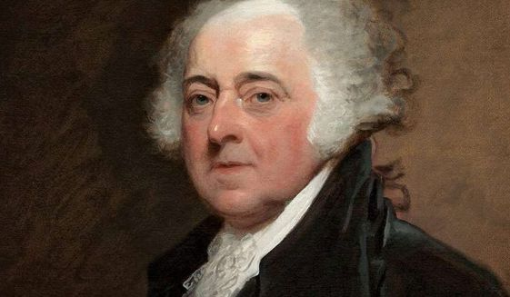 John Adams. (Associated Press) ** FILE **