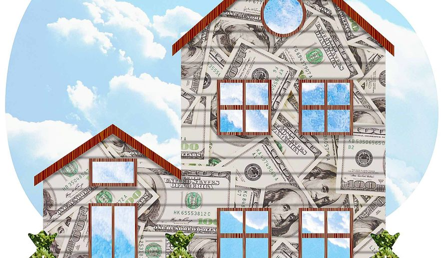 Benefits of Home Ownership Illustration by Greg Groesch/The Washington Times