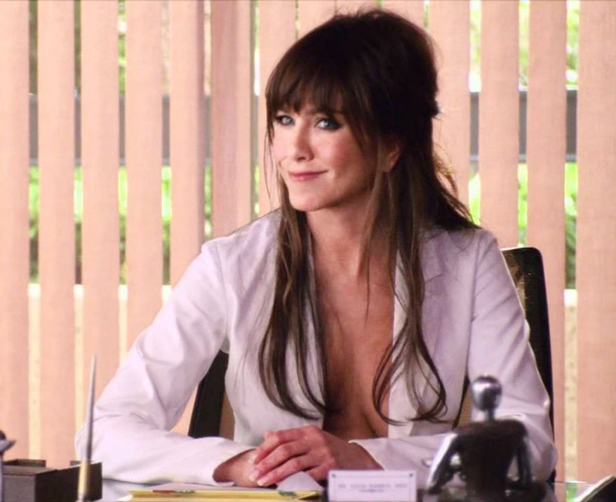 19. Jennifer Aniston as Dr. Julia Harris 