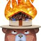 Smokey the Bear Illustration by Greg Groesch/The Washington Times