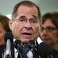 Rep. Jerrold Nadler, New York Democrat, and other critics of the president said Congress isn't to the point of initiating impeachment proceedings. (Associated Press/File)
