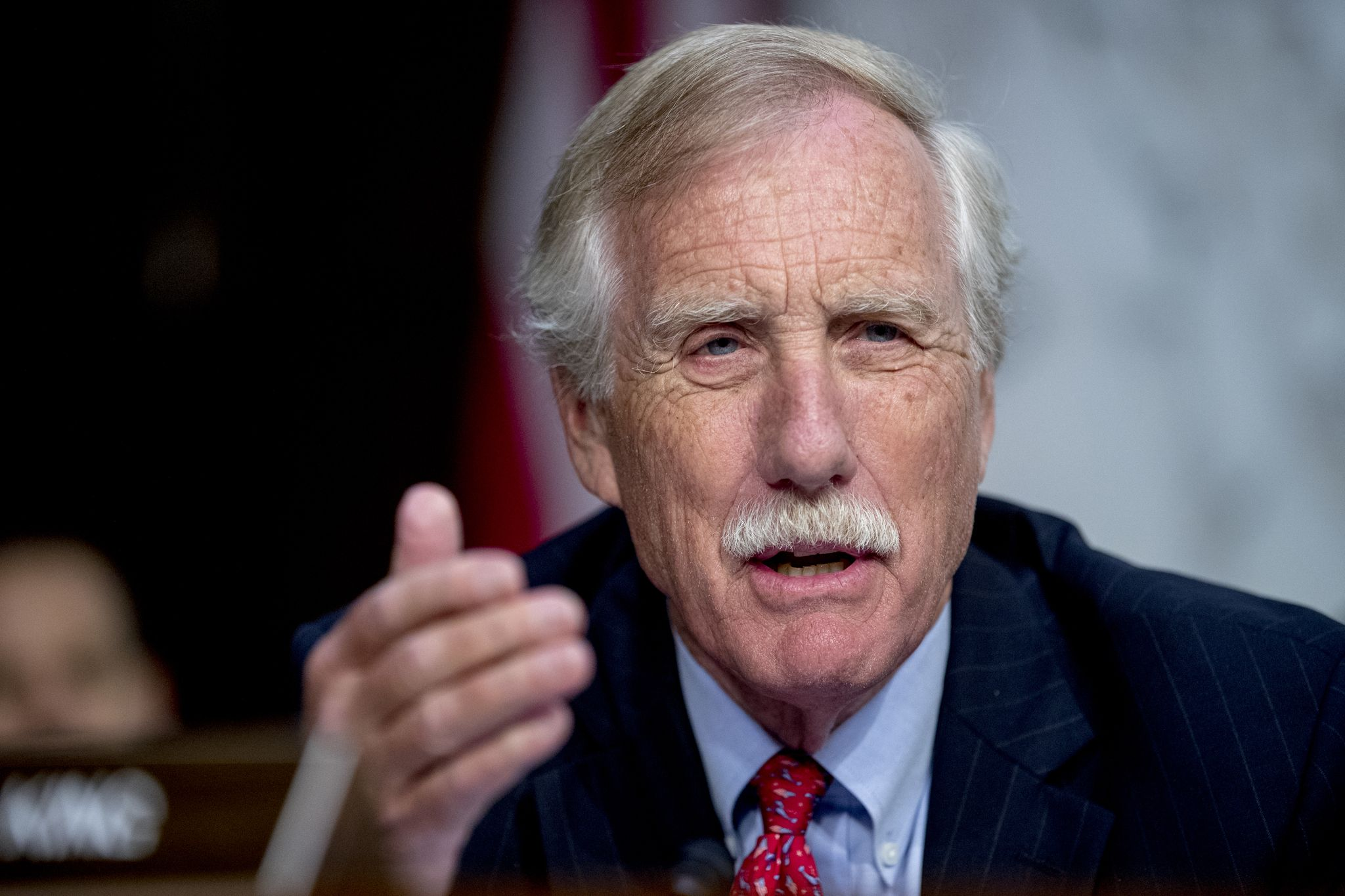 Sen. Angus King on Trump impeachment: 'We may get there, but we're not there now'