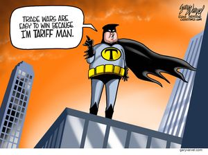 I'm Tariff Man.
