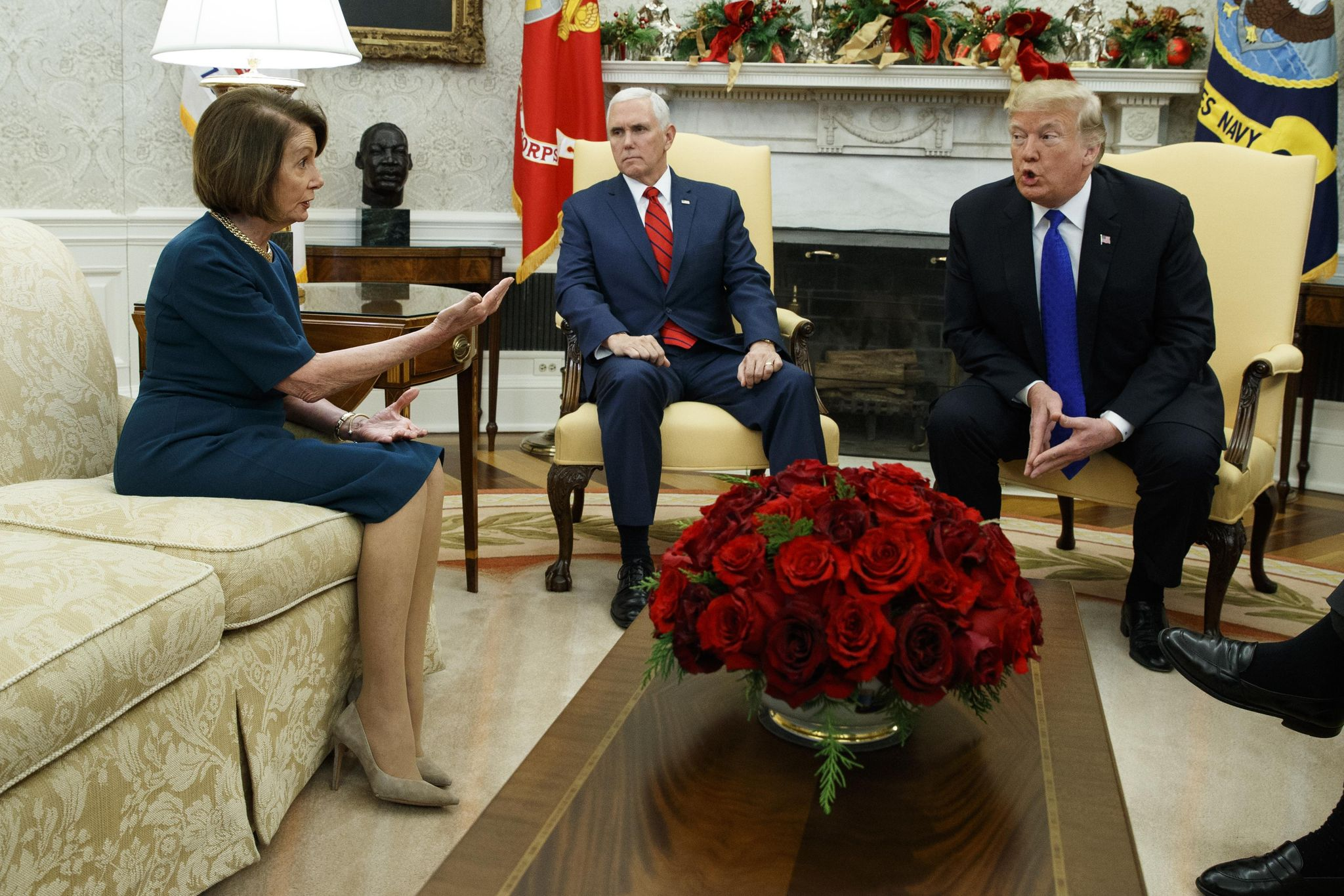 Trump cancels Pelosi's jet to Brussels, blames government shutdown