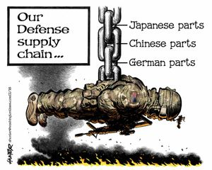 Our Defense supply chain ...