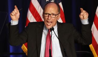 Democratic National Committee Chairman Tom Perez is expected to reveal his plans before Christmas for how many debates the DNC will sanction and how it will decide who makes the cut. (Associated Press)