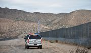 In this Jan. 4, 2016, file photo, a U.S. Border Patrol agent patrols Sunland Park along the U.S.-Mexico border next to Ciudad Juarez. A 7-year-old girl who had crossed the U.S.-Mexico border with her father died after being taken into the custody of the U.S. Border Patrol, federal immigration authorities confirmed Thursday, Dec. 13. (AP Photo/Russell Contreras, File)