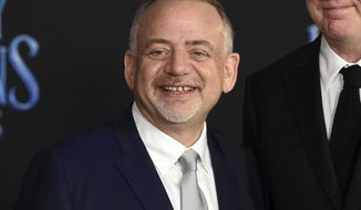 """FILE - In this Nov. 29, 2018 file photo, Marc Shaiman attends the """"Mary Poppins Returns,"""" premiere in Los Angeles. Shaiman was nominated for a Golden Globe for best original score for his work on the film. The 76th Golden Globe Awards will be held on Sunday, Jan. 6.  (Photo by Chris Pizzello/Invision/AP, File)"""