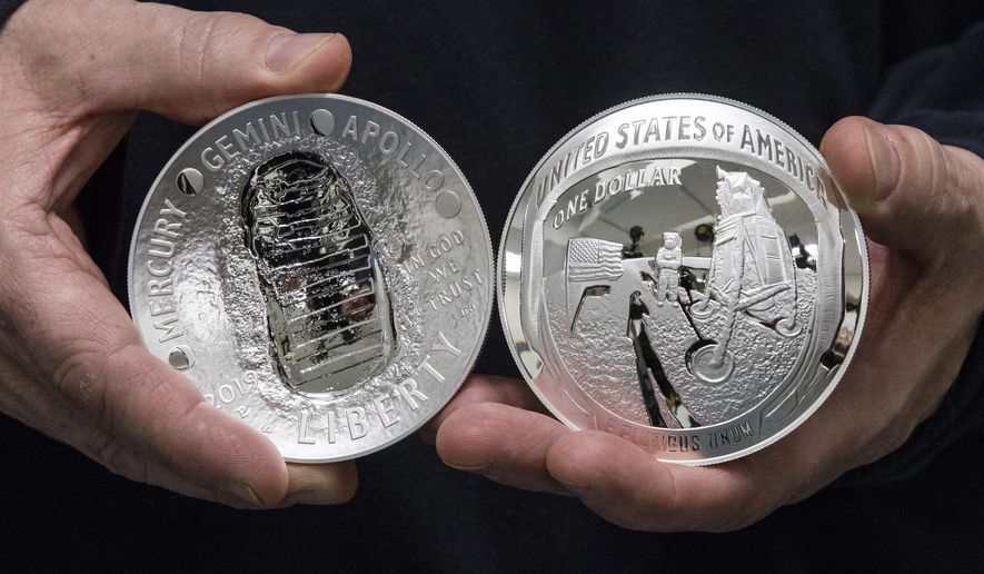 The Two Sides Of The 5 Ounce 2019 Apollo 11 50th