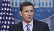 In this Feb. 1, 2017, file photo, then - National Security Adviser Michael Flynn speaks during the daily news briefing at the White House, in Washington. (AP Photo/Carolyn Kaster, File)