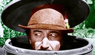 Peter Sellers as Inspector Clouseau. (Associated Press) ** FILE **