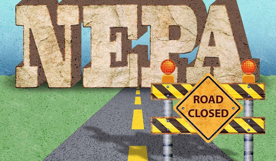 Road Closed Illustration by Greg Groesch/The Washington Times